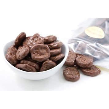 Milk Chocolate Covered Banana Chips [1 Pound Bag]