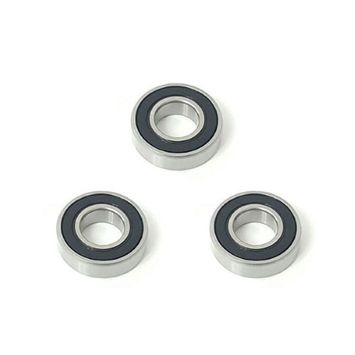 Volar Motorsport 3x 6002 2RS Rubber Sealed Deep Groove Ball Bearings - 15x32x9mm