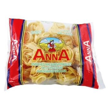 Anna Pappardelle Nest #102 Pasta, 1 Pound Bags (Pack of 12)