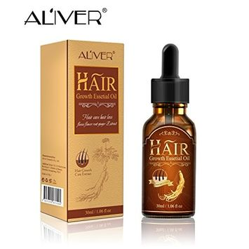 Hair Growth Oil, Hair Essetial Oil for Stronger, Thicker, Longer Hair-All Natural Proprietary Hair Regrowing & Strengthening Formula