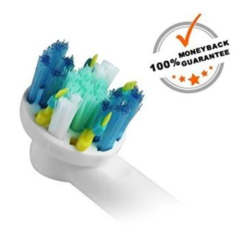 16 Count Compatible Oral-B Braun Floss Action Electric Toothbrush Replacement Brush Heads Refill. PREMIUM QUALITY WITH AFFORDABLE PRICE - 100% Satisfaction Guarantee.