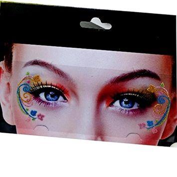 Voberry Temporary Fancy Creative Eye Tattoo Stickers Transfer Eyeshadow Stickers Eyeliner