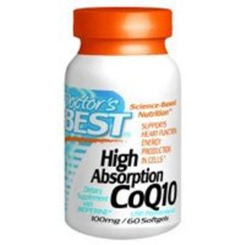 Doctor's Best High Absorption Coq10 w/ BioPerine (100 mg), 360 Soft gels Pack (qkkyi9)