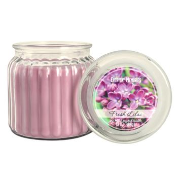 Everyday Memories Fresh Lilac 13-oz. Candle Jar, Purple