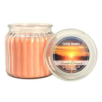 Everyday Memories Sunset Dreams 13-oz. Candle Jar, Multicolor
