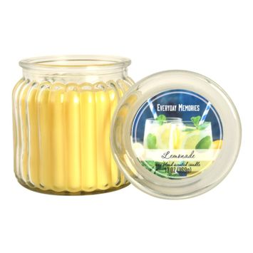 Everyday Memories Lemonade 13-oz. Candle Jar, Yellow