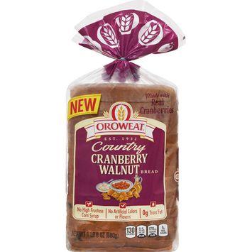 Oroweat Country Cranberry Walnut Bread 24 Oz