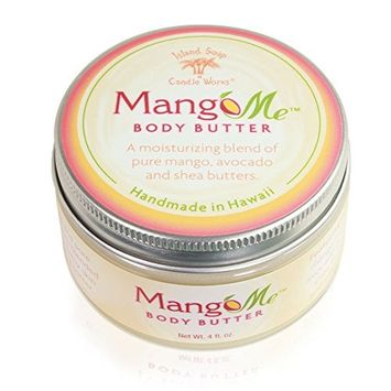 Island Soap & Candle Works Mangome Body Butter, 4 Ounce