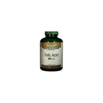 TNVitamins Folic Acid 800 Mcg. - 1000 Tablets