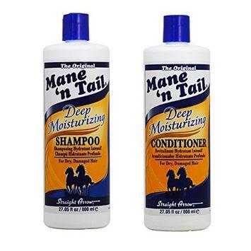 Mane 'n Tail Deep Moisturizing Shampoo and Conditioner Set (27 Oz)