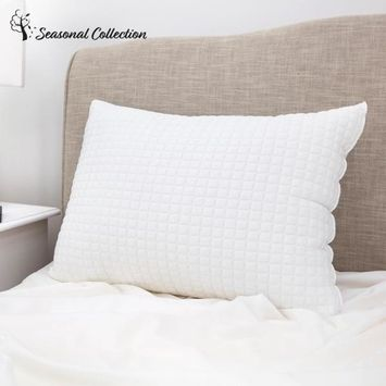 All Seasons Reversible Cooling Polyester Fiber Pillow