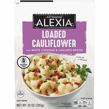 Alexia Loaded Cauliflower with Aged White Cheddar, 10 Ounce