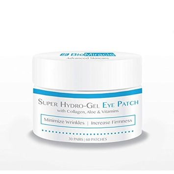 BioMiracle Super Hydro-Gel Collagen Eye Mask Patches (60 Patches)