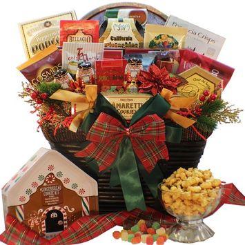 Christmas Nostalgic Traditions Holiday Gourmet Food Gift Basket