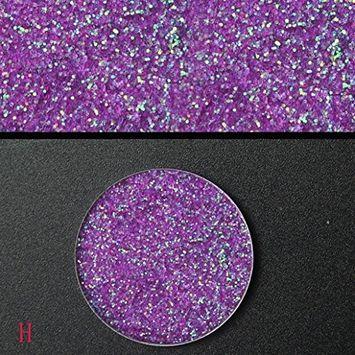 DZT1968 1pc 1.5g 16colors Shimmer Glitter pigmented&vibrant Eye shadow Pressed Powder Pigment Eye Makeup Cosmetics Vibrant