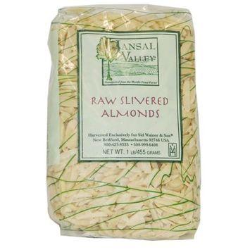 Jansal Valley Slivered Raw Almonds, 1 Pound