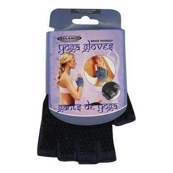 Anti-Slip Yoga Gloves Grey