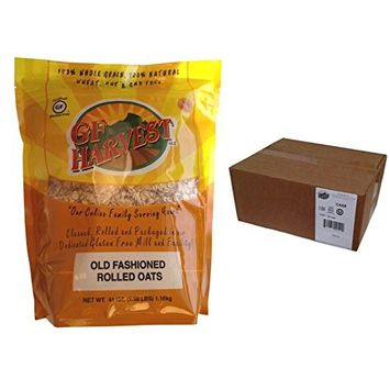 GF Harvest PureOats Rolled Oats, 41 Ounce Bag, Gluten Free (Pack of 6)