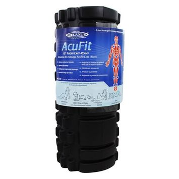 AcuFit Foam Exer-Roller Black - 13 in.