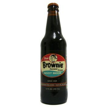 (Retro) Brownie Caramel Cream Root Beer 12 Pack : Soda Soft Drinks : Grocery & Gourmet Food