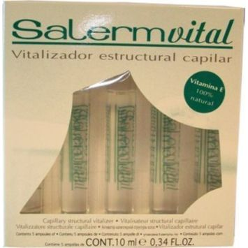 Salerm Vital Capillary Structural Vitalizer 5 Applications Big Sale!