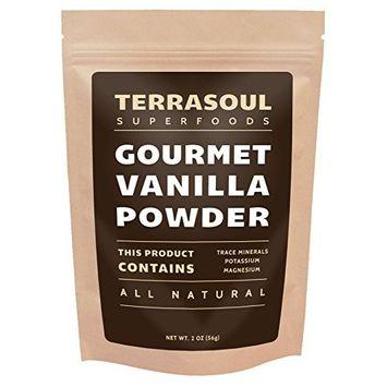 Terrasoul Superfoods Gourmet Madagascar Vanilla Powder, 2oz