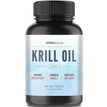 Premium Fish + Krill Oil Pure 100% Pure Cold Pressed Antarctic Krill Oil - EPA - DHA - Astaxanthin - Brain Health + Memory + Focus + Joint + Cardiovascular