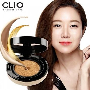 CLIO Kill Cover Liquid Founwear Ampoule Cushion SPF50+/PA+++ Refill Included/100% Authentic Korea Cosmetic (#4 BO Ginger) by Clio