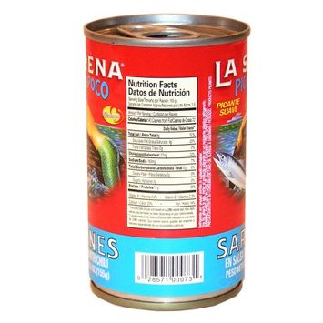 La Sirena Pica Poco Sardine 5.5 oz (Pack of 5)