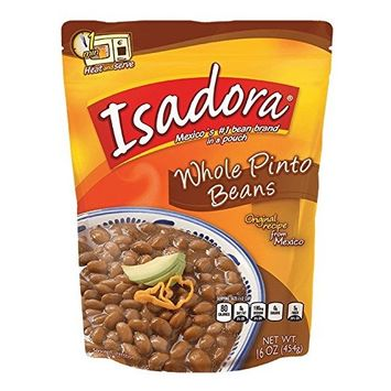 Isadora Whole Pinto Beans Pouch (Pack of 3) - 16 ounces