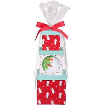 Designpac Gifts Llc Sandra Magsamen Snow Much Tower Candy and Cookie Holiday Gift Set, 10 pc