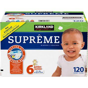Kirkland Signature Supreme Diapers Size 6