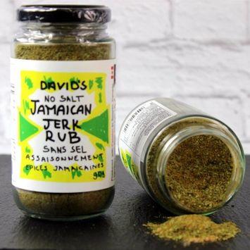David's Jamaican Jerk Seasoning Rub SALT FREE …