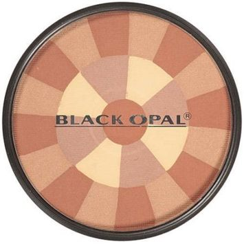 [VALUE PACK OF 3] BLACK OPAL Color Fusion Mosaic Powder 0.4 OZ [BRONZING POWDER] : Beauty