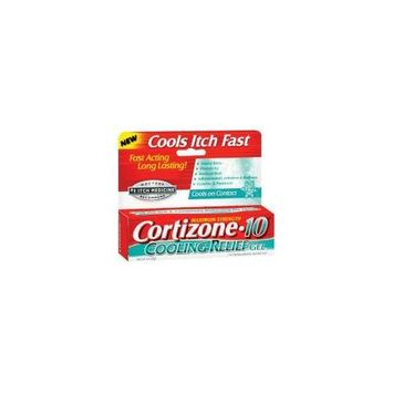 6 Pack - Cortizone-10 Cooling Relief Anti-Itch Gel 1oz Each