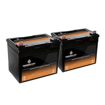 12V 35AH SLA Battery replaces ups12-150mr lc-la1233p ep33-12 prc1235 - 2PK - S00016-2PK-00004