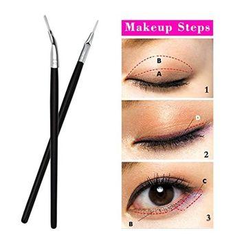 Creazy Makeup Brush Eyeliner Brush Eye Brow Tools Lip Eyeliner Oblique Bending Brush