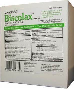 Biscolax Laxative