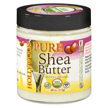 Hollywood Beauty 100% Shea Butter - 4 oz.