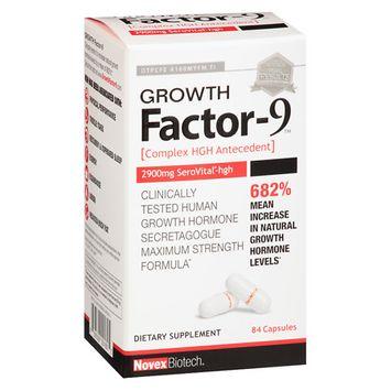 Novex Biotech Growth Factor 9 Capsules - 84 ea