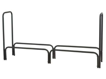 Blue Rhino 60 LOG RACK BLACK