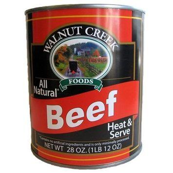Walnut Creek All-Natural Beef Chunks, 28 Oz. Can