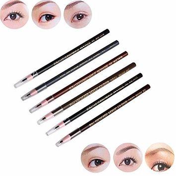 Toyofmine Waterproof Positioning Design Microblading Eyebrow Lip Makeup Pencil