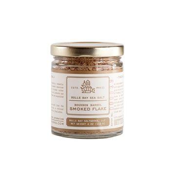 Bulls Bay Saltworks - Bourbon Barrel Smoked Flake Sea Salt