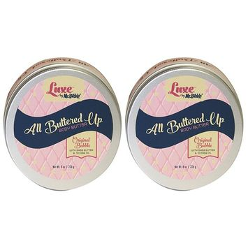 Luxe by Mr. Bubble, Body Butter, Original Bubble Scent, 8 oz, Pack of 2