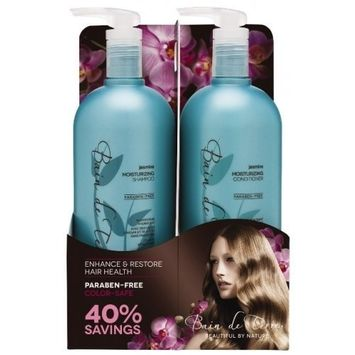 Bain De Terre Shampoo and Conditioner, Jasmine, 33.8 Ounce