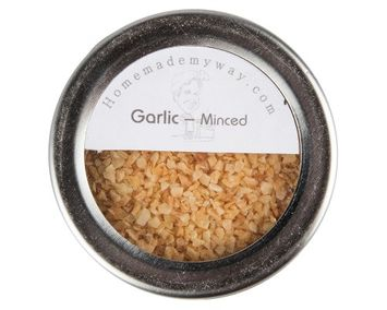 Homemade My Way Minced Garlic 3 Oz in Magnetic Spice Tin