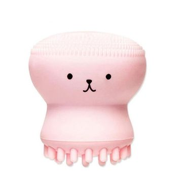 Quartly Hot Bear Facial Brush Face Clean Skin Massage Deep Pore Scrubber Cleanser Beauty Tool Exfoliating Jellyfish Silicon Brush / Pore Brush