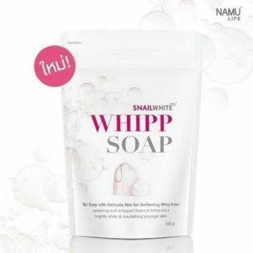 (Pack of 2) Snail White Whipp Soap Reduce Wrinkles, Dark Spots, Skin Whitening 100 G by Angun Gift Shop: Beauty