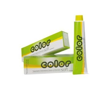 Salerm Color Soft Semi-permanent Cream 5.5 Mahogany Brown 3.4 Oz by Salerm Cosmetics
